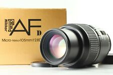 【 NEAR MINT++ 】Nikon AF Micro Nikkor 105mm f/2.8D Telephoto Lens from Japan #601