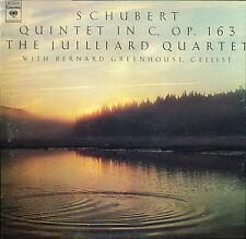 Schubert Juilliard Quartet Greenhouse Quintet In C op 163 Columbia M 32808
