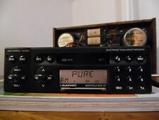 classic Blaupunkt Montreux RCR 127 car radio /cassette player Amber Illumination