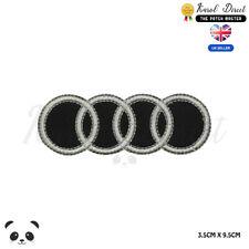 Audi Auto Marke Logo Bestickt Zum Aufbügeln Aufnäher Abzeichen Für Kleidung Usw