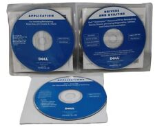 Dell Application CD_ Drivers Utilities_Tools CD THREE discs 2002 WIN98 NT XP