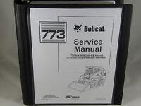 Bobcat Skid Steer Loader 773 Service Repair Manual 6900092