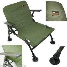 NGT Fishing Session Chair with Adjustable Large Mud Feet New Carp Tackle