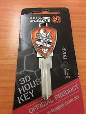 BRISBANE ROAR SOCCER KEY A-LEAGUE LOCKWOOD LW4 KEY