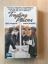Trading Places VHS Video Tape English with dutch subs clamshell