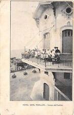 CPA ESPAGNE BARCELONA HOTEL IDEAL PAVILLON TERRAZA DEL PAVILLON (scan recto vers