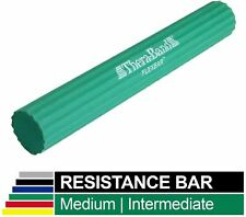 """Thera-Band Flex Bar Resistance Bar in Green 15 lbs Force - 12"""" x 1.5"""""""