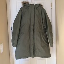 The North Face Olive Green Down Parka, Size XL, excellent condition