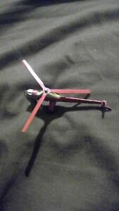 Original Dinky Toys Cast Metal Westland Sikorsky S51 Helicopter Red United...