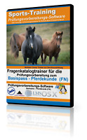 Fragenkatalog / Prüfungsfragen -Basispass Pferdekunde FN- (Windows)