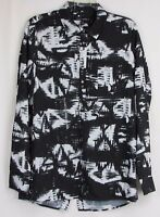 Dolce Vita Black & White Long Sleeve Top Women's Size Small
