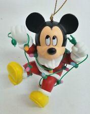 Grolier Disney Christmas Magic Ornament 101 Mickey w. Lights