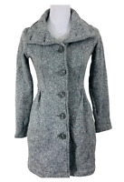 Patagonia Better Sweater Coat Size XSmall Heather Grey Long Cardigan Button Up