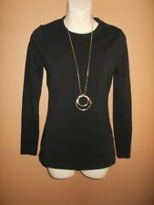 HOT OPTIONS BLACK STRETCH COTTON LONG SLEEVE LAYER SHIRT TOP FOR WINTER SIZE 10
