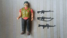Vintage 1980s The A Team The Bad Guys Cobra 6� Action Figure Galoob with Rifles