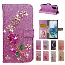 Bling Wallet Leather Magnetic Cover Case For Galaxy Note 20 Ultra/S20/S10/S9/S8