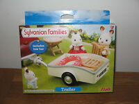 Sylvanian Families Trailer & tow bar for Campervan, Saloon, Seven Seater B/New