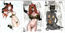 Tarot Witch Of The Black Rose #72, 75 & 76 Studio Variants Lot Set of 3 Comics