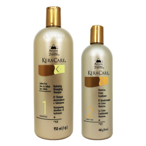 Avlon Keracare Sulfate Free Hydrating Shampoo and Humecto Creme Conditioner