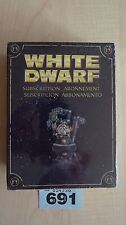 WH40K  LIMITED EDITION WHITE DWARF SUBSCRIPTION 2010 DWARF IN SPACE NISB#691 OOP