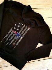 New Women's New England Patriots Zip Up Jacket Hoodie Sweatshirt Sz Medium