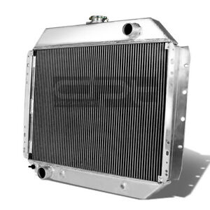For 68-79 Ford F100/150/F250 Bronco Aluminum Racing 2-Row Cooling Radiator+Cap