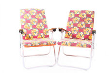 2er Set Chaise pliante chaise pliante Chaise De Camping DDR vieux vintage design