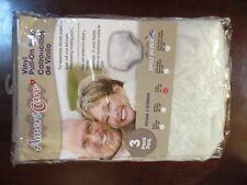 3 Pair of Vinyl Waterproof Adult Pants Quiet Plastic in Your Size Large