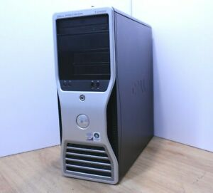 Dell Precision T3400 Windows 10 Tower PC Intel Core 2 Quad 2.6GHz 4GB 500GB WiFi