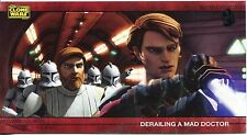 Star Wars Clone Wars Widevision Silver Stamped Parallel Base Card [500] #60