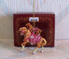 Trail Of The Painted Ponies Rhinestone Cowgirl Christmas Ornament