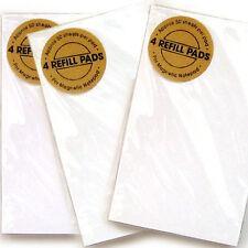 12 Refill Pad for Padblocks Magnetic Notepad / Shopping List Kitchen Fridge Memo