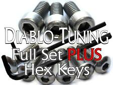 Ibanez Saddle Intonation & Locking Nut Screws SET Stainless Steel PLUS Hex Keys!