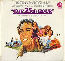 "GEORGES DELERUE ""THE 25TH HOUR"" LP 1967 MGM E-4464 ST NEUF ! scéllé !"