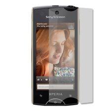 Sony Ericsson Xperia RAY - 1x film de protection semi rigide + chiffon doux