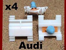 4 Audi Tür Zierleisten Seitenverkleidung Leiste Stoß Befestigung panel-faszie
