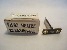 NEW IN BOX SIEMENS-ALLIS 25-202-555-803 FH03 HEATER