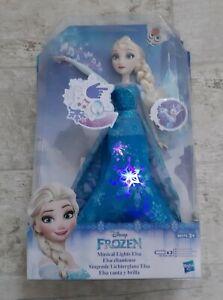 Disney Frozen Musical Lights Elsa Doll Rare Collectible Item