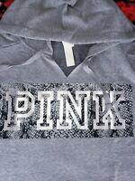 NEW Victoria's Secret PINK Everyday Lounge Campus Pullover Hoodie MEDIUM M VS