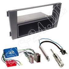 AUDI a6 4b ab01 senza Bose 1-din Pannello Radio + Scomparto Adattatore ISO Antenna Spina Set