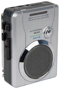 Bush Portable Cassette Player with FM/AM Radio (A-)