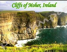 Ireland - CLIFFS OF MOHER Travel Souvenir Flexible Fridge Magnet