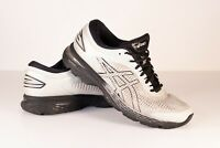 ASICS Mens Gel-Kayano 25 Gray Black Running Shoes Size 9.5