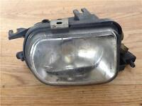 Mercedes C Class Fog Lamp Passenger Front NSF C180 Fog Light 4 Door Saloon 2005