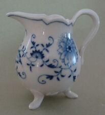 MEISSEN China CROSS SWORD Zwiebelmuster BLUE ONION Antique Porcelain CREAMER JUG