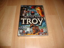 BATTLE FOR TROY BATALLA DE TROYA ACCION HISTORICA THQ PARA PC NUEVO PRECINTADO