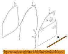 PORSCHE OEM 10-16 Panamera Front Door-Lower Weatherstrip Seal Right 97053753402