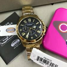 Fossil Grant Chronograph Gold-tone Watch FS4815