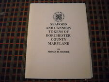 Scarce Dorchester County Maryland Seafood Cannery Token Book Oyster Crab Tomato