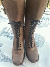 TONY MORA LEATHER Boots Lace. NEW. Size 36.